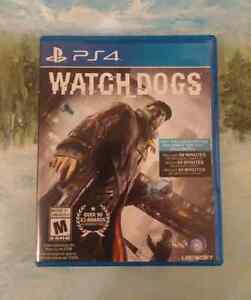 Watch Dogs PS4 $15.00