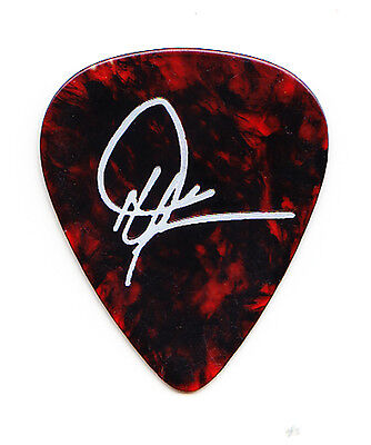 Dwight Yoakam Signature Brown/White Guitar Pick - 2000 Tour