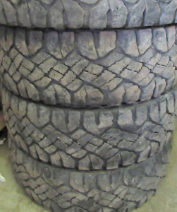 TIRES 18 INCH 55-60%===LT275=70=18===(((4TIRES)))Goodyear Duratr