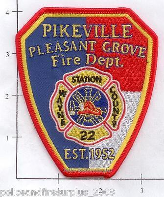 North Carolina - Pikeville Pleasant Grove Station 22 NC Fire Dept Patch