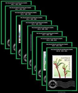 Digital Stamp Albums - Australia - Complete Set Vol 1-10 (1913 - 2016)