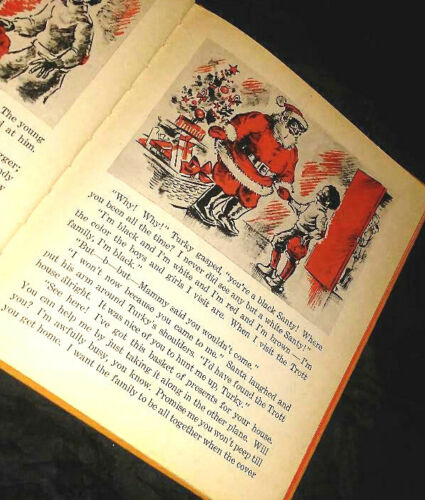 Turky Trott And The Black Santa. Kate Gambold Dyer. 1942. 1st Edition - RARE!