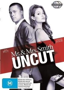 Mr & Mrs Smith : Unrated - (2-Disc Set) - NEW DVD - Region 4