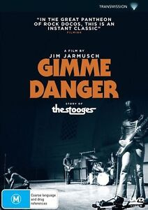 GIMME DANGER - STORY OF THE STOOGES DVD, NEW & SEALED, 2017 RELEASE, FREE POST