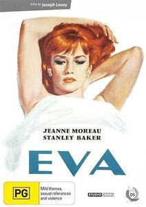 Eva - Jeanne Moreau (DVD, 2010) New & Sealed