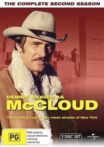 Mccloud : Complete Season 2 (DVD, 2010, 3-Disc Set) New & Sealed