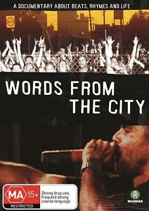 Words From The City (DVD 2007 Region 4) Hilltop hoods,BLISS N ESO,downsyde,TZU