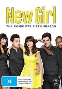 New Girl: Season 5 (DVD, 2016, 3-Disc Set), NEW SEALED REGION 4