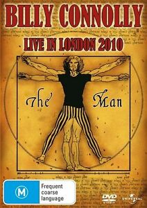 BILLY CONNOLLY: LIVE In LONDON 2010 : NEW DVD