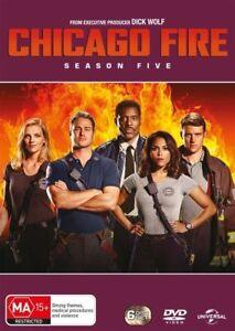 Chicago Fire : Season 5 (DVD, 2018, 6-Disc Set) Free Post