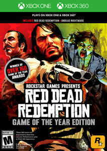 Red Dead Redemption Game of The Year (XBOX One & 360) `