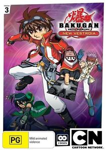 Bakugan - New Vestoria : Collection 3 (DVD, 2011, 2-Disc Set)-REGION 4