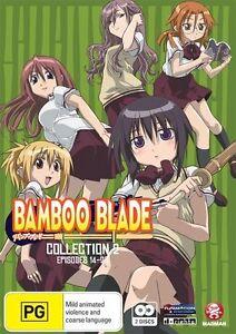 Bamboo-Blade-Collection-2-Eps-14-26-DVD-2010-2-Disc-Set