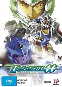Mobile Suit Gundam 00 : Season 2 : Vol 6 (DVD, 2011) New  Region 4