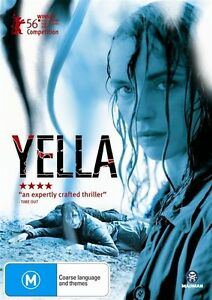 Yella - New/Sealed DVD Region 4