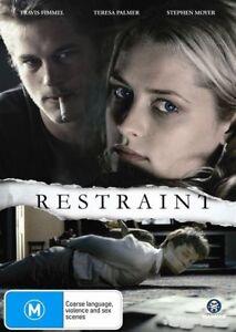 Restraint  * Teresa Palmer *(DVD, 2009) BRAND NEW REGION 4