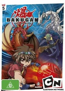 Bakugan - Evolution Revolution : Vol 5 (DVD, 2009) NEW SEALED