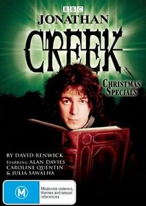 Jonathan Creek: Christmas Specials (DVD, 2008)-REGION 4-Brand new-Free postage