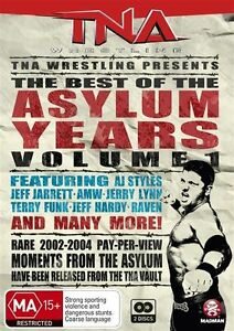 Tna Wrestling - The Best Of The Asylum Years : Vol 1 *Bonus Features!*