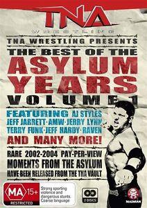 TNA Wrestling Best of the Asylum Years Vol 1 NEW/SEALED (DVD, 2-Disc Set) R4