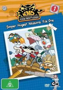Codename - Kids Next Door - Sooper Hugest Missions - File 01 (DVD, 2008) New