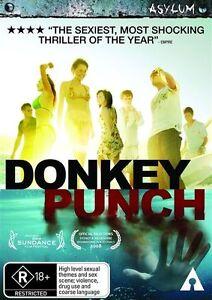 Donkey Punch (DVD, 2009) Region 4, NEW & SEALED, FREE POST
