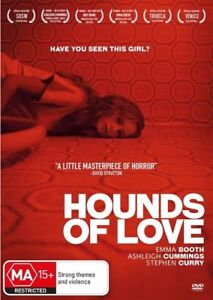 HOUNDS OF LOVE DVD, 2017 RELEASE, REGION 4, NEW & SEALED, FREE POST
