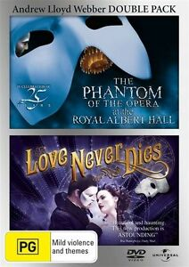 Phantom Of The Opera / Love Never Dies - 25th Anniversary Edition : NEW DVD