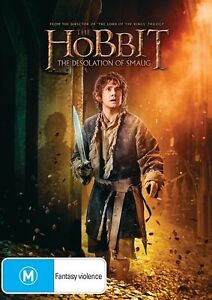 The-Hobbit-2-The-Desolation-of-Smaug-DVD-R4-NEW-SEALED