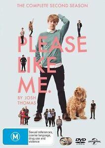 Please Like Me :  Season 2 ( DVD, 2014, 2-Disc Set) NEW and sealed