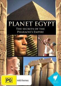 Planet Egypt (DVD, 2011)-REGION 4-Brand new- Free postage