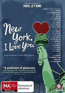 New York, I Love You (DVD, 2010) New & Sealed