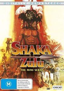 Shaka Zulu (DVD, 2017, 4-Disc Set)