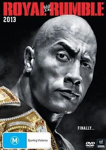 ROYAL-RUMBLE-2013-DVD-2014-Rated-M-Dwayne-The-Rock-Johnson-Wrestling