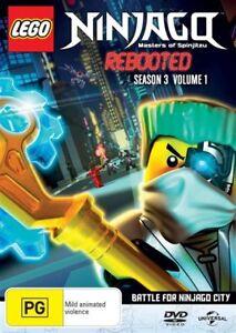 LEGO-Ninjago-Masters-of-Spinjitzu-Series-3-Vol-1-NEW-DVD