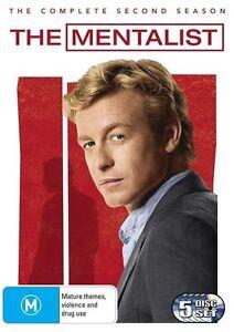 Brand-New-NEVER-USED-The-Mentalist-Season-2-DVD-2010-5-Disc-Set