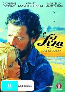 LIZA - Love To Eternity  1972 = CATHERINE DENEUVE = PAL 4 = SEALED