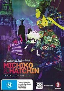 Michiko & Hatchin : Collection 2 (DVD, 2014, 2-Disc Set) Region 4  New