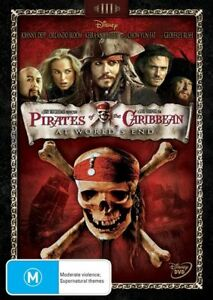Pirates of the Caribbean 3 - At World's End (DVD, 2007) NEW R4