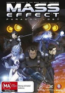 Mass Effect - Paragon Lost (DVD, 2013) Brand New & Sealed Region 4 DVD - D35