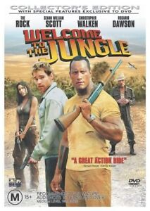 Welcome To The Jungle (DVD, 2004) THE ROCK - DWAYNE JOHNSON..NEW & SEALED  D2310