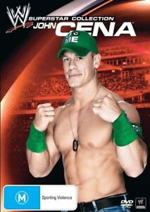 WWE - Superstar Collection - John Cena (DVD, 2012) New Region 4 Sealed