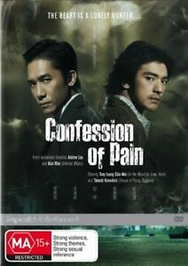 Confession-of-Pain-DVD-2007-Aussie-Stock-NOT-ex-rental