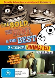 The Bold Brave And The Best Of Australian Animated Shorts (DVD, 2008)-REGION 4