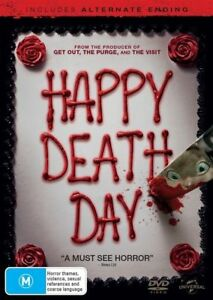 Happy Death Day (DVD, 2018) Free Post