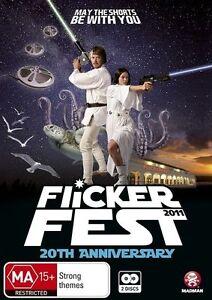 Flickerfest - 20th Anniversary (DVD, 2011, 2-Disc Set) New & Sealed
