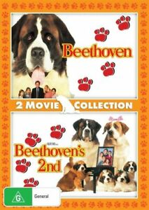 Beethoven-Beethoven-039-s-2nd-DVD-NEW-Region-4-Australia