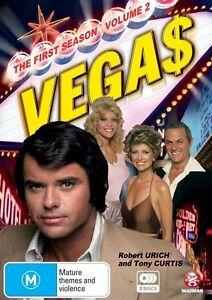 Vegas : Series 1 : Part 2 (DVD, 2010, 3-Disc Set) New & Sealed