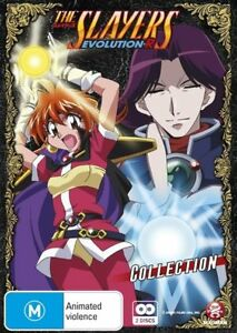 The Slayers Evolution R Collection : Series 5 (DVD, 2010, 2-Disc Set) - New