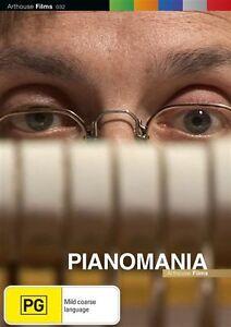 Pianomania (DVD, 2011) Brand New & Sealed Region 4 DVD - Free Postage Australia